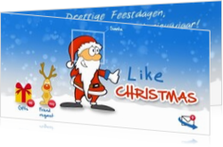 Cartoons en grappige kerstkaarten designs - kerstkaart OLD_like christmas, ll