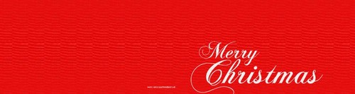 merry christmas in red and black, ll Achterkant/Voorkant